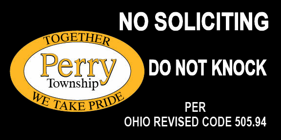 PERRY POLICE DEPT NO SOLICITING